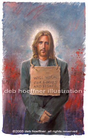 Homeless Christ, jesus christ portrait, homeless, charity, needy, humble Christ