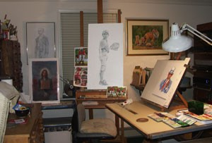 deb hoeffner studio in bucks county, pa