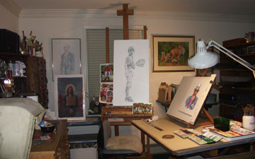 deb hoeffner illustration and art studio in bucks county PA