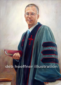 testimonial for oil portraits of religious leaders by deb hoeffner