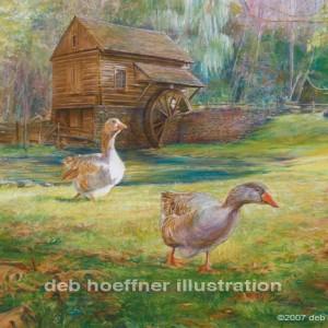 Daniel Garber Studio Bucks County Artist