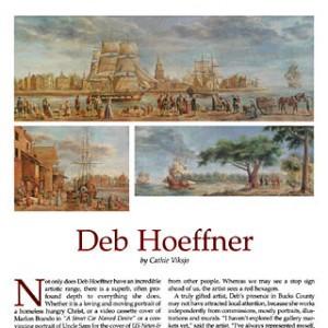 deb hoeffner featured in Bucks County Magazine