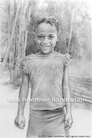 child realistic drawing