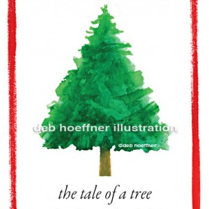 christmas tree book illustrations