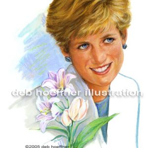 Diana, Princess of Wales commemorative stamp