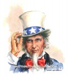 Uncle Sam art by deb hoeffner illustration Stock illustrations images