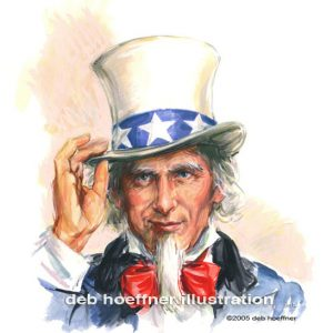 Uncle Sam - US News & World Report American patriotic art