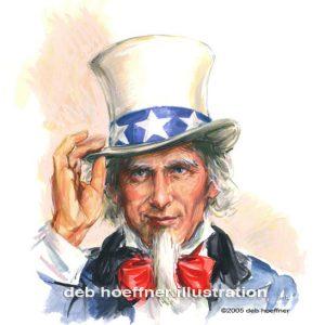 Uncle Sam - US News & World Report American patriotic art