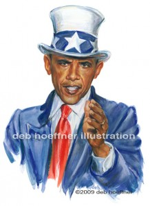 Uncle Sam - Barack Obama