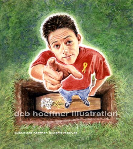 Child Suicide illustration