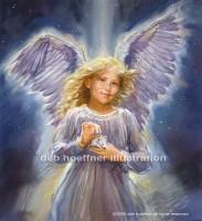 angel illustration children's book