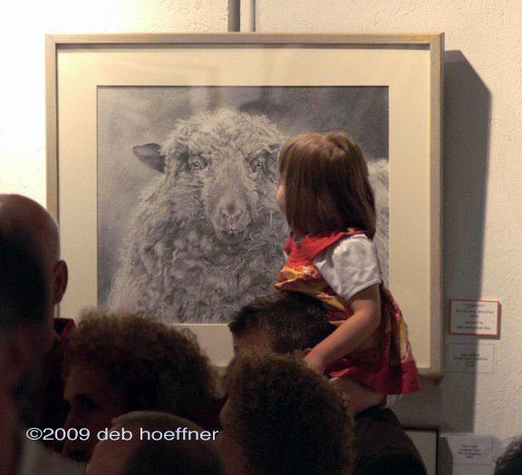 Howell Farm Dreadlocks award winner in art show