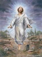 Jesus Christ Risen Easter religious art