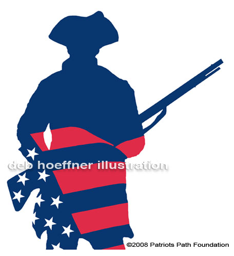 american patriot flag logo