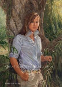 bucks county portrait artist deb hoeffner