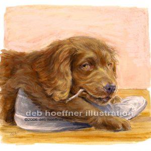 dog art animal illustration