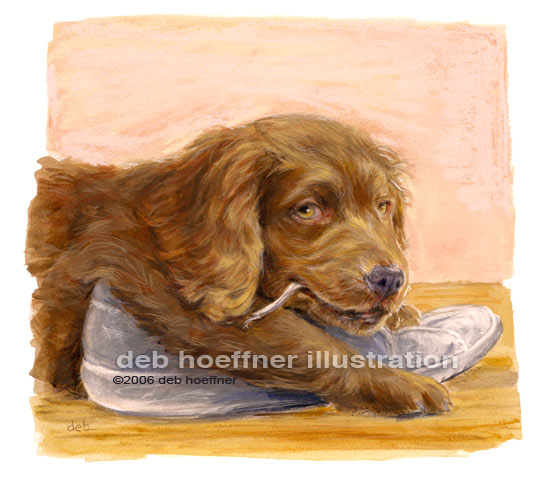 dog art animal illustration