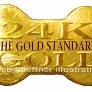 digital art by deb hoeffner gold standard logo