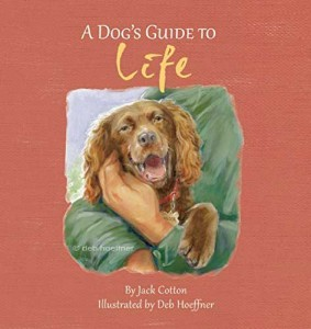 realistic illustration dog book by deb hoeffner illustration