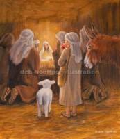 christian children's book nativity