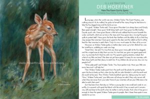 baby deer illustration